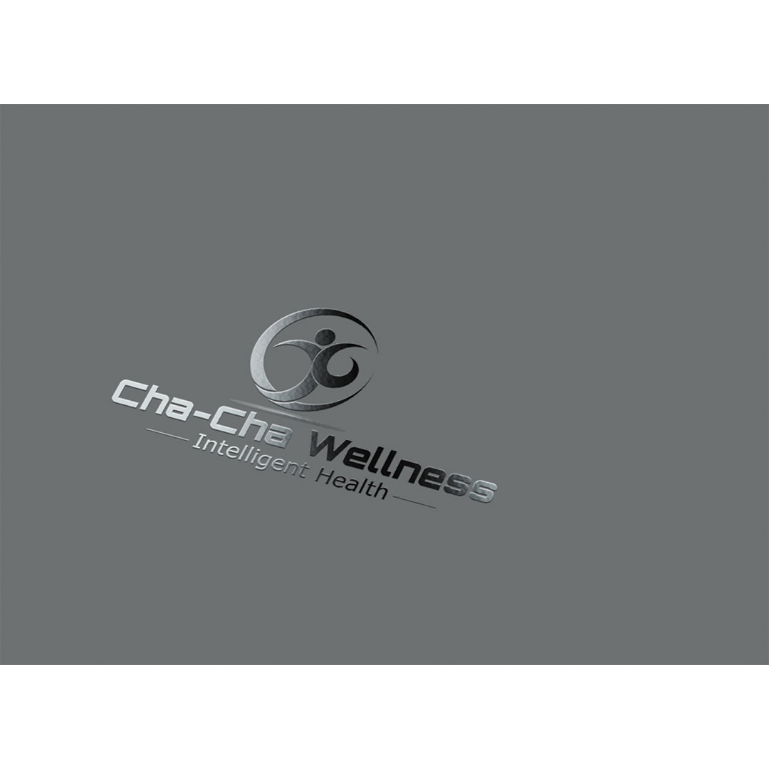 cha-cha Wellness logo design