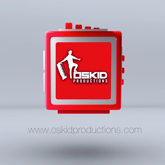 Oskid productions logo reveal