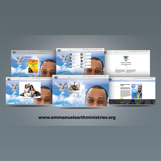 Emmanuel-Earth Ministries Rebranding