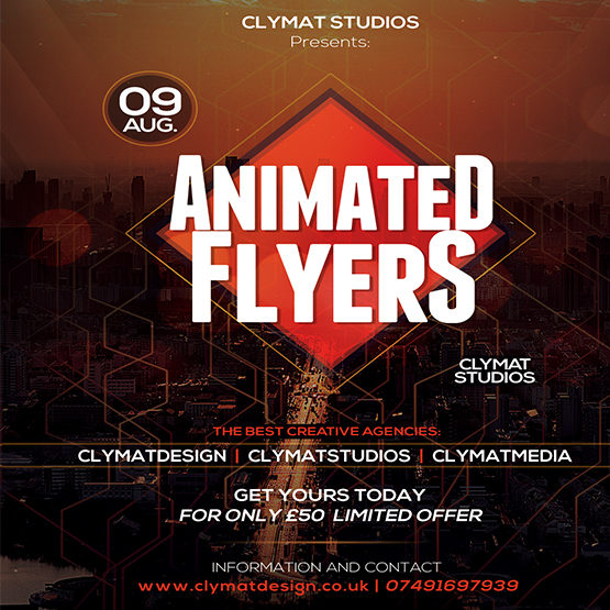 Animated Flyers