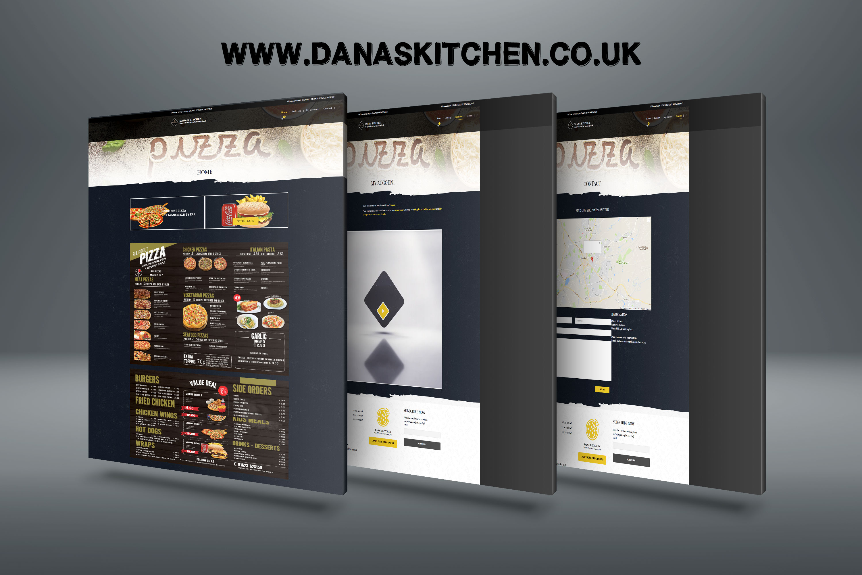 Danas Kitchen Web Project