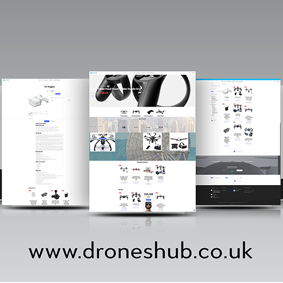 Droneshub Website