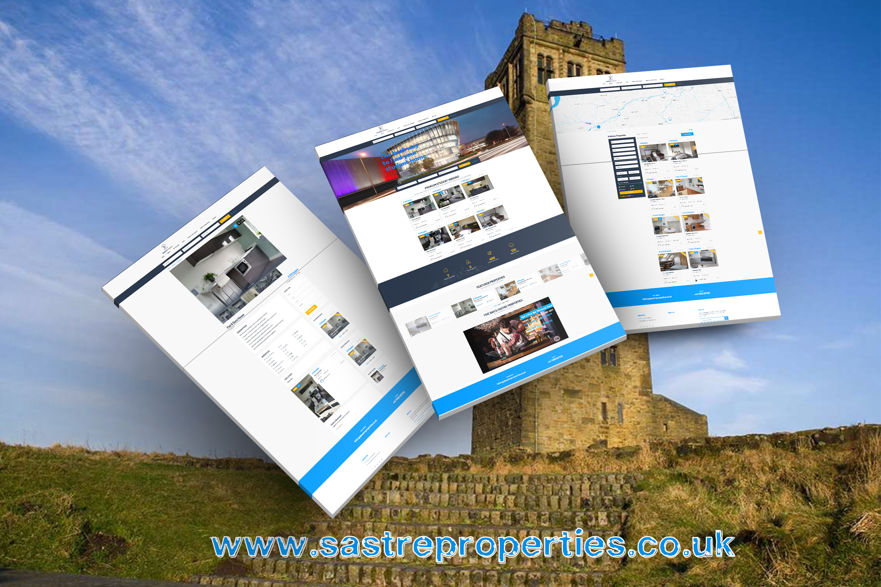 Sastre Properties Website